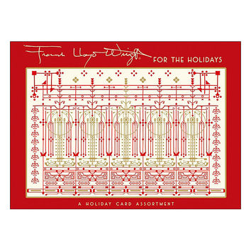 Frank Lloyd Wright For The Holidays Cards