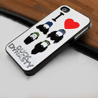 I Love Duck Dynasty - Hard Case Print for iPhone 4 / 4s case - iPhone 5 case - Black or White (Option Please)