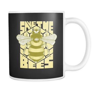 """Save the Bees (Art Deco)"" 11oz. Mug"