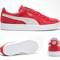 Womens Suede Classic Eco Trainer