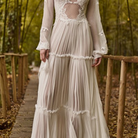 Silk Chiffon Tiered Dress | Moda Operandi