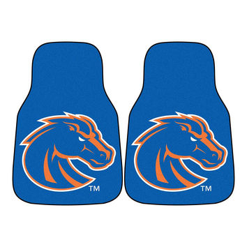 Boise State Broncos NCAA Car Floor Mats (2 Front)