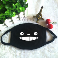Youpop Fashion Japanese Anime Cosplay Tonari No Totoro Dust Cotton Mouth-muffle Face Mask Maschere Antipolvere Masques KZ162
