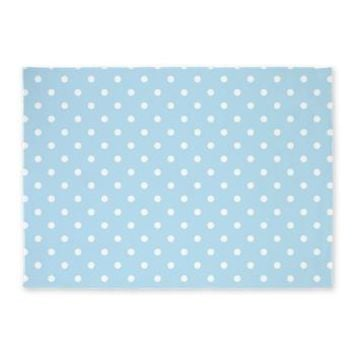 Cute Polka Dots Pattern 5'x7'Area Rug> Area Rugs> Heartlocked