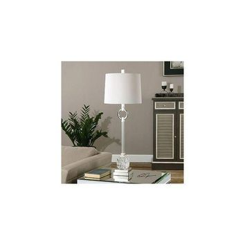 CREY7GX Uttermost Bordolano 33.5  H Buffet Table Lamp with Round Shade