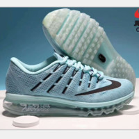 """NIKE"" AirMax Trending Fashion Casual Sports Shoes blue H-PSXY"