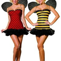 Buggin Out Reversible Costume - Women Halloween Costume - Sexy Costumes for Woman - Oya Costumes