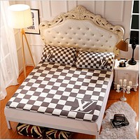 LV Collapsible - Ice mat - Three-piece - Single bed - Double bed Tartan B-AA#-CBJF