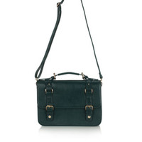 Guilford Satchel | Green | Accessorize