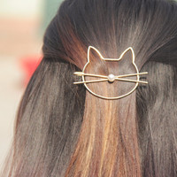 Cat hair pin