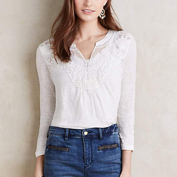 Lace Cloaked Tee