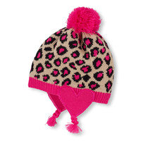 leopard knit hat | US Store