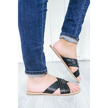 Cross My Path Sandals