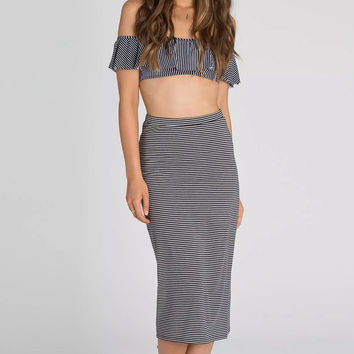 Billabong Skirting The Truth Pencil Skirt