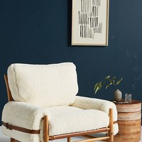Wool Rhys Chair