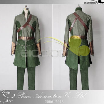 2016 Hot Sale halloween costumes for adult men the Lord of the rings The hobbit Legolas cosplay costume