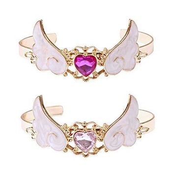 Crystal Winged Bracelet
