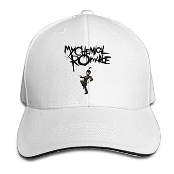 ULUZUS Men's My Chemical Romance Band Snapback Hat