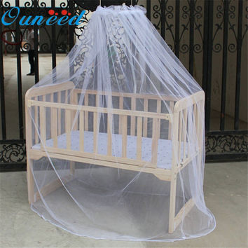 Hot Selling Baby Bed Mosquito Net Mesh Dome Curtain Net for Toddler Crib Cot Canopy  Quality first DROP SHIP