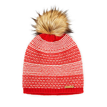 Sloan Faux Fur Pom Hat | Unique Winter Accessories