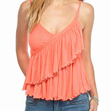Free People Melbourne Solid Tank