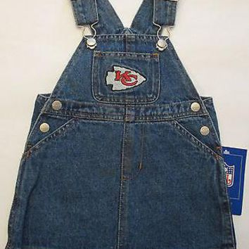 Kansas City Chiefs Reebok Infant Jean Skirt Jumper Size 18 Months