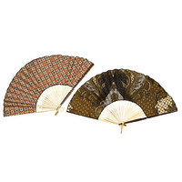 Cotton & Bamboo Fan - Indonesia