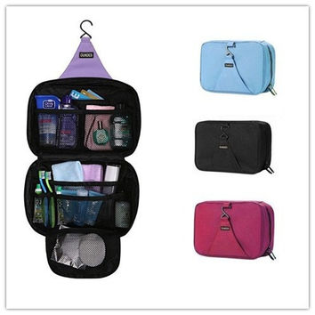 Hanging Large Capacity Toiletry Bag - Toiletries, Cosmetics, Storage Travel Organizer