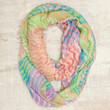 Goodbye Zig Zag Infinity Scarf in Multi