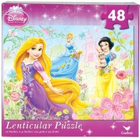 Disney Princess - Picking Flowers 48-Piece Holographic Puzzle