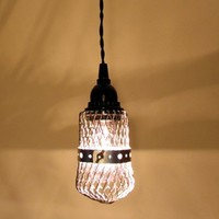 Muscongus II Industrial Hanging Light with Black by LampGoods