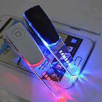 Stereo Bluetooth Headset LED Light Earphone for Samsung &iPhone 6S Plus