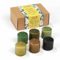 Organic Extra Virgin Olive Oil Votive Candles