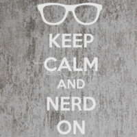 keep calm and nerd on TSHIRT