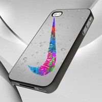 0784 Nike Sport Logo Glitter design for iPhone 4 or 4S Case / Cover