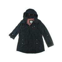 Nautica Womens Zip Front Outerwear Windbreaker Jacket