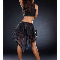 Black Fairytail Petticoat Costume Accessory @ Amiclubwear costume Online Store,sexy costume,women's costume,christmas costumes,adult christmas costumes,santa claus costumes,fancy dress costumes,halloween costumes,halloween costume ideas,pirate costume,da