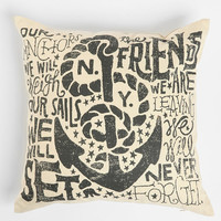 Jon Contino Anchors Away Pillow