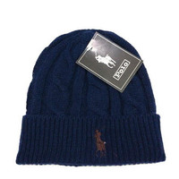 Perfect Polo Ralph Lauren Women Men Embroidery Beanies Knit Hat Warm Woolen Hat