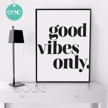 Inspiration Quote Canvas Painting Poster - Free Shipping
