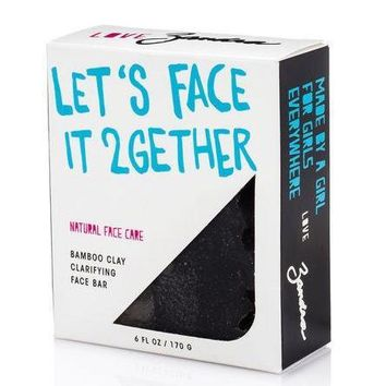 Let's Face It 2gether Bamboo Clay Clearifying Facial Bar