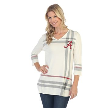 Alabama Crimson Tide Plaid Print Tunic | BAMA Plaid Print Tunic | Alabama Crimson Tide Ladies Plaid Print Tunic