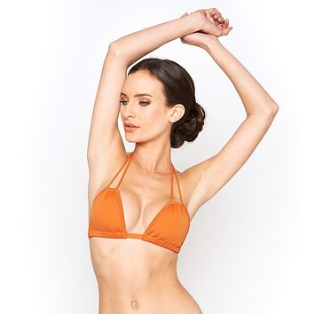 Montce Swim Terracotta Euro Swimsuit Triangle Top