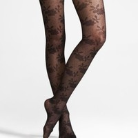 SHEER LACE FULL TIGHTS