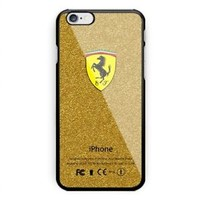 New Ferrari Gold Christmas Special For iPhone 6 6+ 6s 6s+ 7 7+ 8 8+ Cover Case
