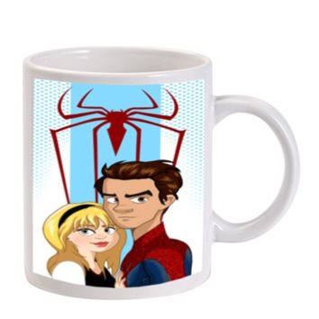 Gift Mugs | Andrew Garfield Amazing Spiderman 2 Ceramic Coffee Mugs
