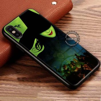 Green Faced Lady Wicked Witch iPhone X 8 7 Plus 6s Cases Samsung Galaxy S8 Plus S7 edge NOTE 8 Covers #iphoneX #SamsungS8