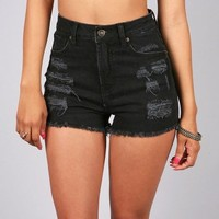 Brazen High Waist Shorts | High Waist Shorts at Pink Ice