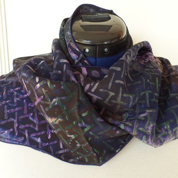 Rayon Batik Scarf Lattice by Island Batik