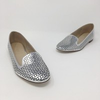 J.Crew Size 6 Silver Shoes